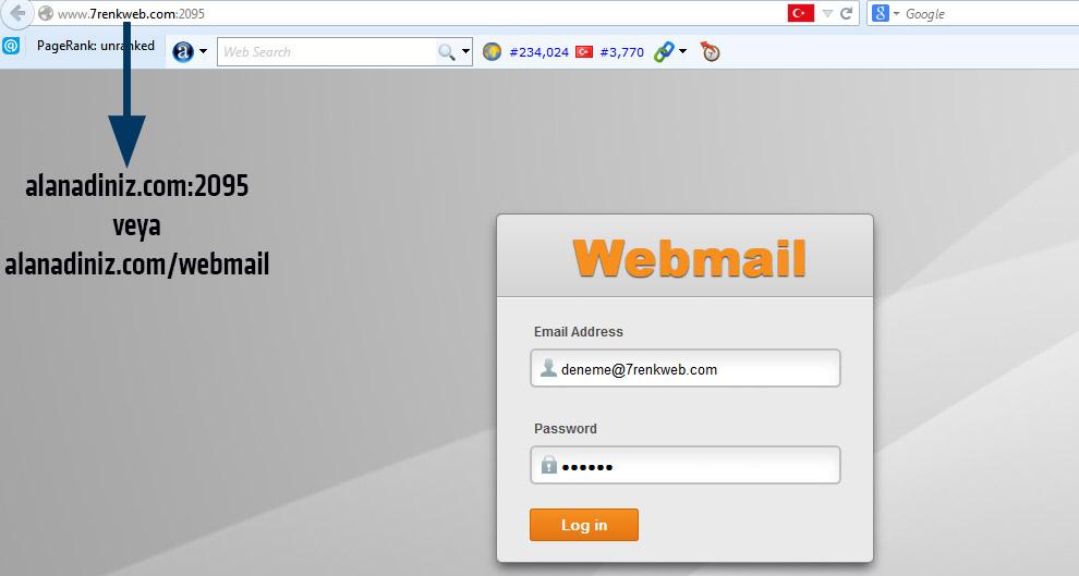 web mail nasıl kullanılır 1